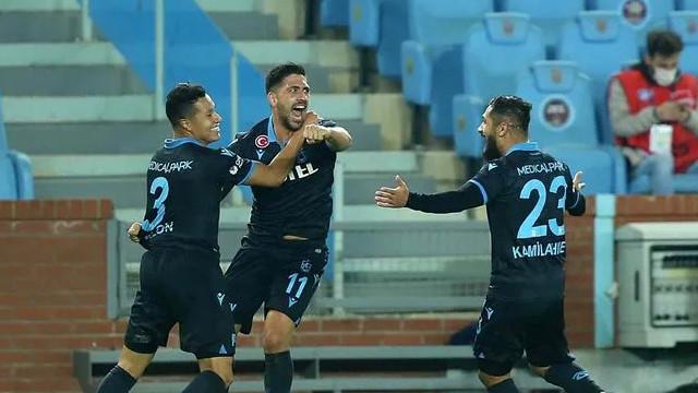 Fırtına tek golle kazandı: Trabzonspor 1-0 Denizlispor