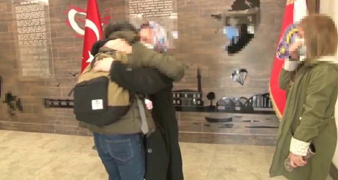 ''İkna edilen'' PKK'lı terörist ailesiyle böyle buluştu