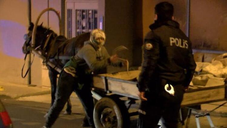 Polise yakalanan 3 kadın ortalığı birbirine kattı