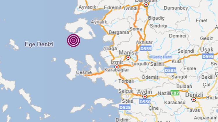 İzmir'de bir deprem daha!
