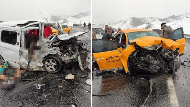 Van'da korkunç kaza! Ölü ve yaralılar var