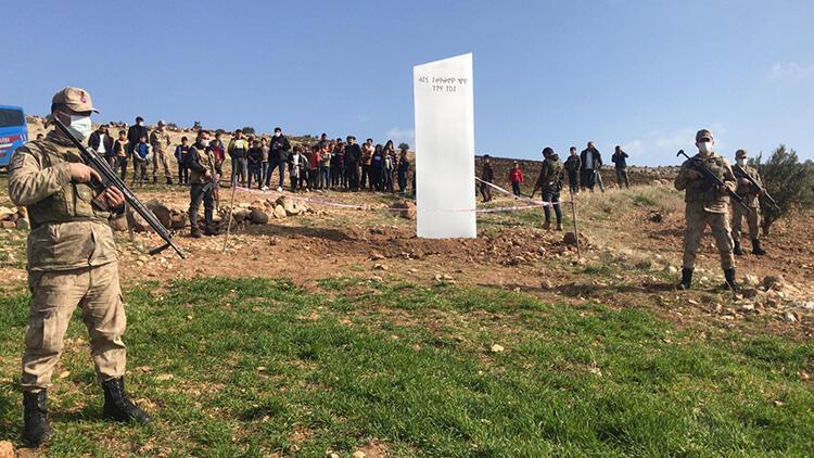 Göbeklitepe'de esrarengiz olay! Araziye yerleştirilmiş halde bulundu