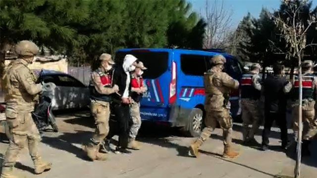 Gaziantep'te terör operasyonu: 1 tutuklama
