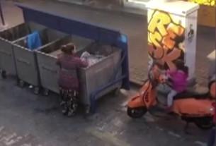 İstanbul'un tam ortasında şoke eden görüntü: Vatandaş çöpten besleniyor!