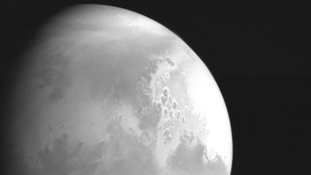 Çin'in keşif uydusundan Mars'tan ilk kare