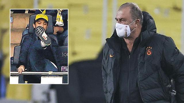 Derbi maçında Fatih Terim'in tepki gösterdiği görüntüler ortaya çıktı