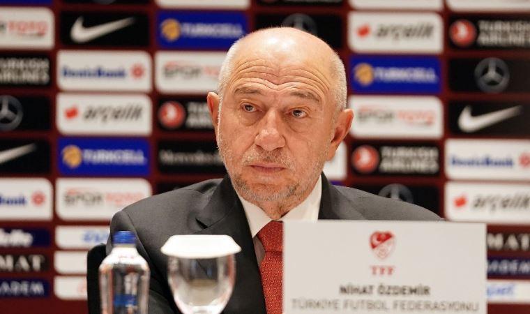 TFF Başkanı Nihat Özdemir'den 'derbide seyirci' açıklaması
