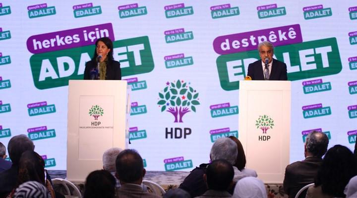 HDP'den ''Herkes için Adalet'' kampanyası