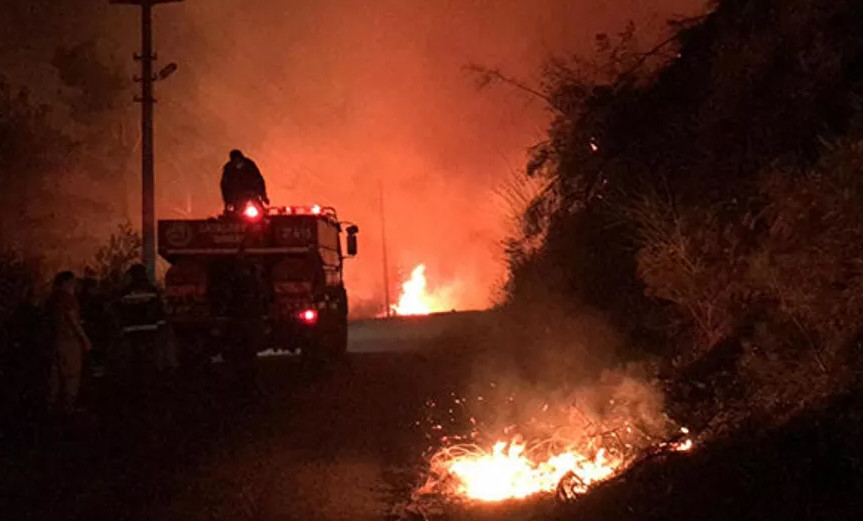 Kabus gecesi: Orman yangınım mahalleye sıçradı!