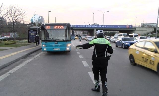 İstanbul'da toplu ulaşım araçlarına denetim