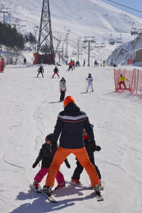 Palandöken'da kısıtlamada kayak keyfi - Resim: 2