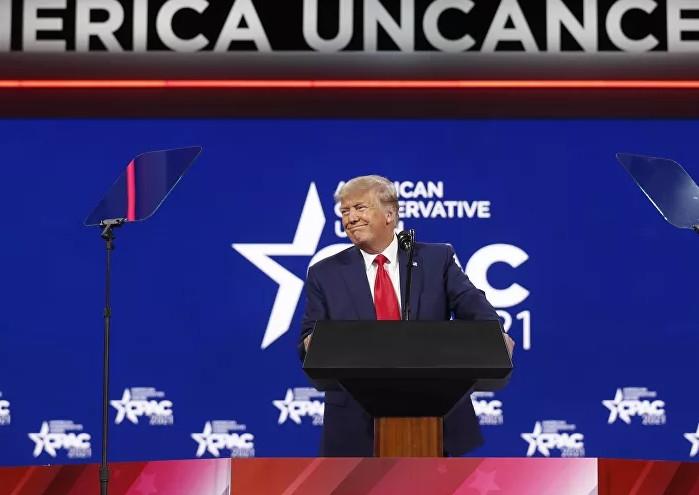 Trump'tan yeniden adaylık sinyali
