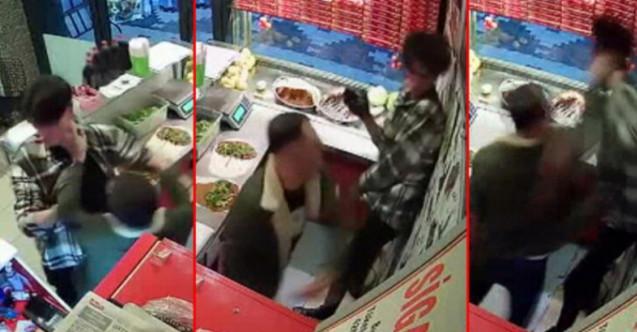 Çiğ köfte acılı diye çalışana saldıran maganda serbest!