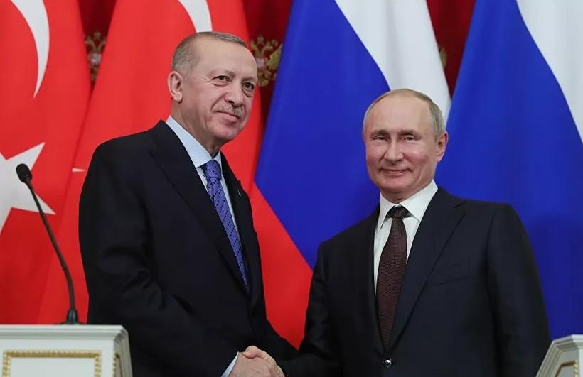 Erdoğan ve Putin ''online'' açılışta buluşacak
