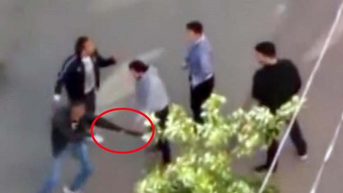 Antalya'da ortalık karıştı! Bıçaklı, sopalı, pompalı tüfekli kavga kamerada
