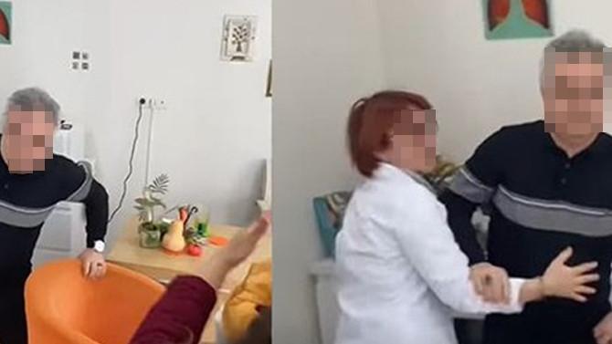 Bu kez doktor, hasta yakınlarına saldırdı!