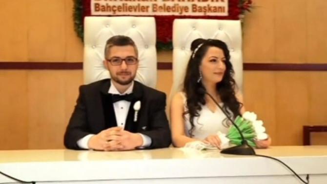 Normalleşme döneminin ilk nikahı kıyıldı