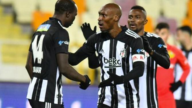 Beşiktaş Atiba ile uçtu: Yeni Malatyaspor-Beşiktaş: 0-1