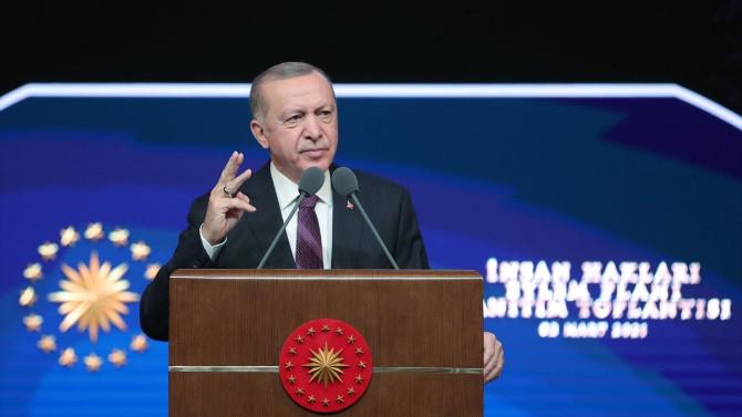 Erdoğan, İnsan Hakları Eylem Planı'nın 11 ilkesini açıkladı