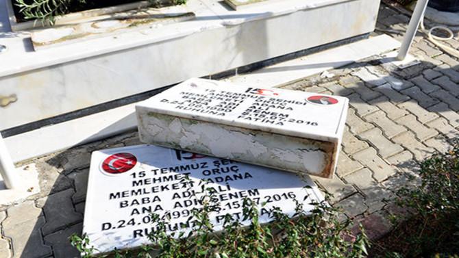 Şehit mezarları tahrip edilmişti! Alçak saldırının altından DEAŞ çıktı