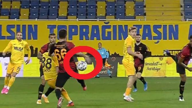 Rıdvan Dilmen yorumladı: Galatasaray'a verilen penaltı doğru mu?