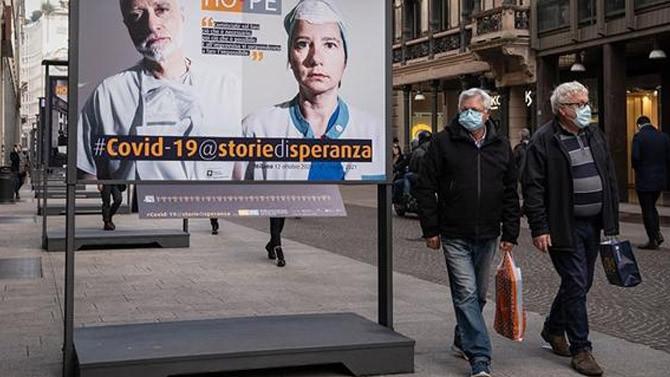 İtalya'da koronavirüs tedbirleri 6 Nisan'a kadar uzatıldı