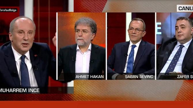 Muharrem İnce: Saray'a giden CHP'lide müthiş gelişmeler oluyor