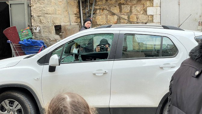 Kudüs'te AA ekibine saldırı