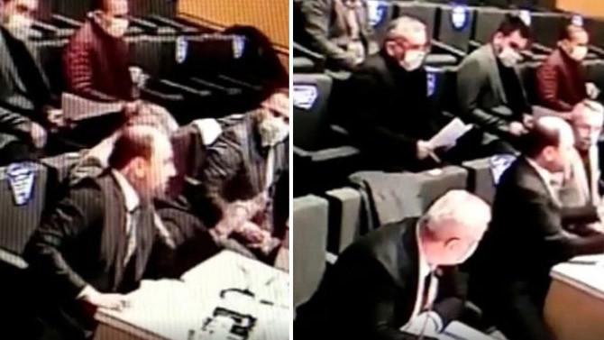 İzmir Bergama'da Belediye Meclis'ini karıştıran olay!