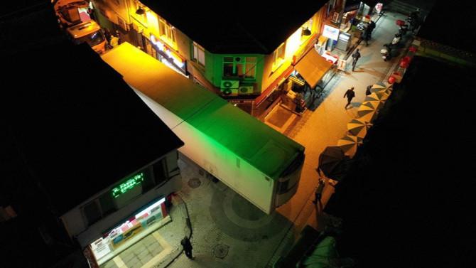 İstanbul'da geceyarısı ''navigasyon'' sürprizi
