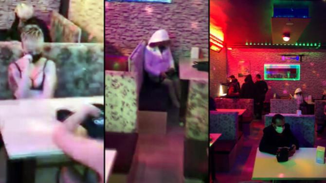 Koronanın kol gezdiği Konya'da eğlence mekanına baskın