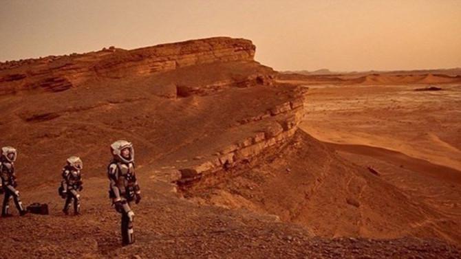 Çin, Mars'tan yeni görüntüler paylaştı