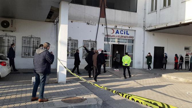 Hastaneyi birbirine katan baba oğul tutuklandı