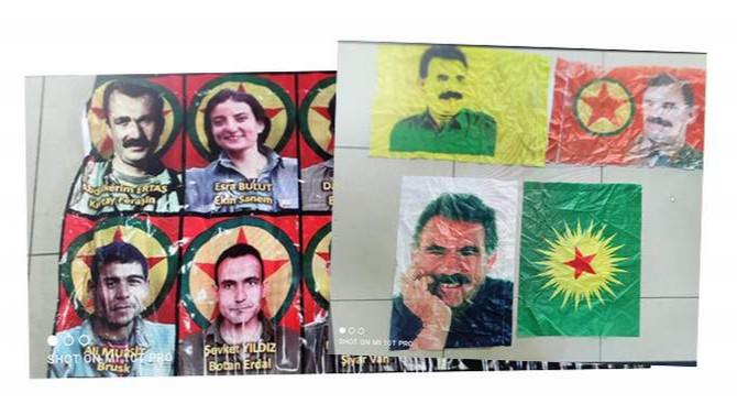 Belediye binası mı PKK yuvası mı belli değil!