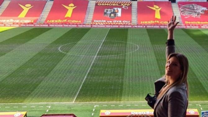 Türk Telekom Stadyumu'nda zeminin son hali tepki çekti