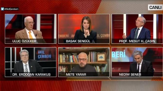 Erdoğan'ın danışmanından CNN Türk canlı yayınında mide bulandıran küfür!