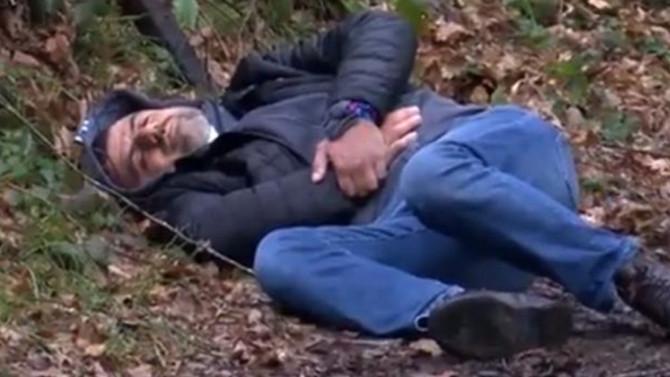 Belgrad Ormanı'nda bulduğu silahla kendini yaraladı