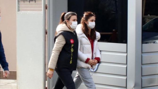 Uyuşturucudan gözaltına alınan Ayşegül Çınar için karar verildi