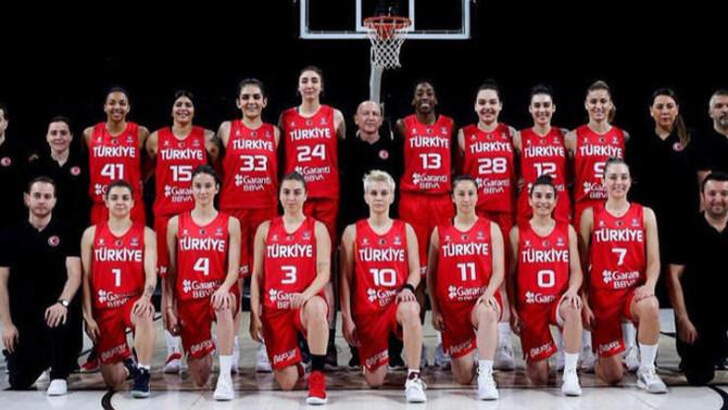 FIBA Kadınlar Avrupa Basketbol Şampiyonası'nda rakiplerimiz belli oldu