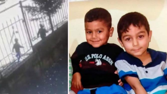 İnşaatta ölü bulunan 2 kardeşin son görüntüleri ortaya çıktı