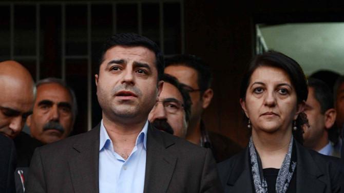 Selahattin Demirtaş'tan Pervin Buldan'ı yalanlayan sözler