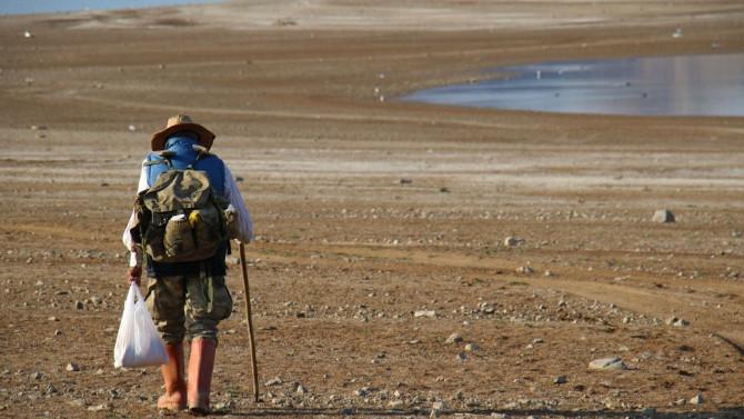 ''Robinson Ziya'' artık adasına yürüyerek gidiyor