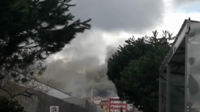 İstanbul'da bir otelde korkutan yangın