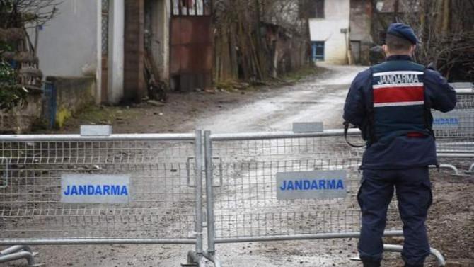 Bir köyde daha koronavirüs karantinası