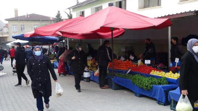 Halk pazarları süresiz kapatıldı