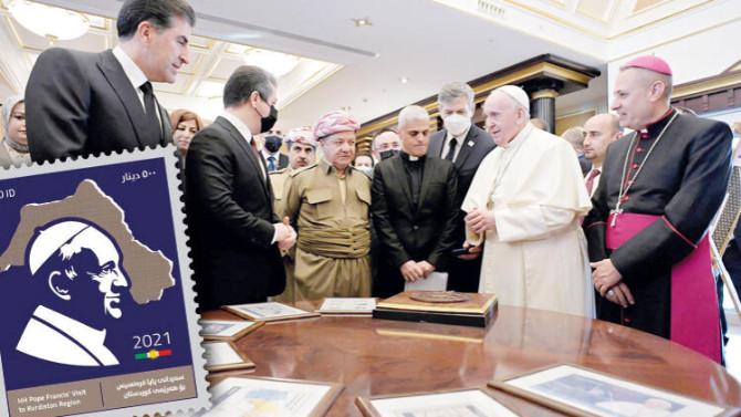 Papa'nın Erbil ziyaretinde ''Kürdistan'' skandalı!