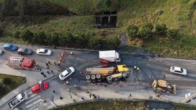 İstanbul'u kilitleyen kaza