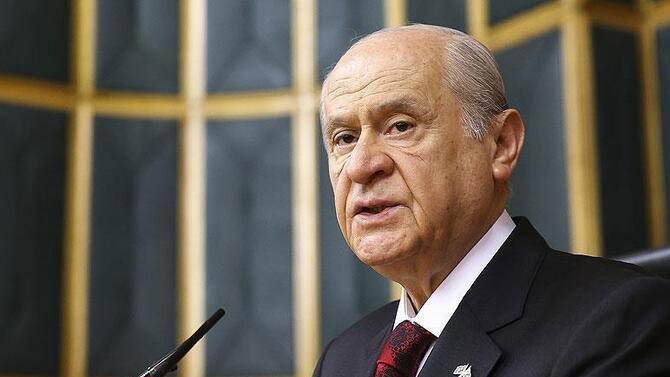 MHP Lideri Bahçeli'den ''Miraç Kandili'' kutlaması