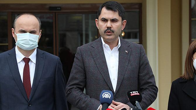 Bakan Kurum: Edirne'ye millet bahçesi kazandıracağız