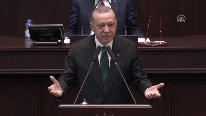 Erdoğan: ''Damat kadar taş düşsün başınıza''